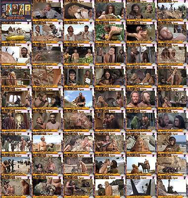 Planet of the Apes (1967) movie storyboard trading cards. Charlton Heston.