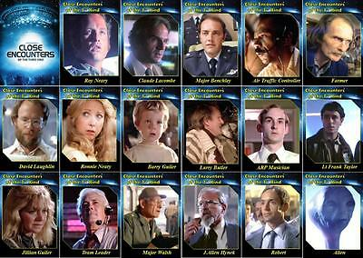 Close Encounters of the Third Kind Movie Trading Cards. Aliens UFO.