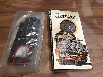 Champion Driving Gloves  Alexander  2 Pair  Les Leston  Speedwell ??  New  Rare
