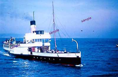 """Southampton Isle of Wight Paddle Steamer """"Consul"""" Vintage 1960s=SADLY LONG GONE"""