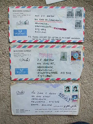 3 Air-Mail Covers