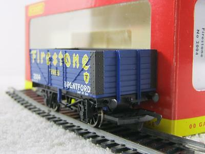 Hornby 00 Gauge R.6343 Firestone 7 Plank Open Mineral Wagon VGC BOXED