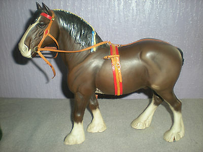 Beswick Clydesdale  Horse No.2465 - show harness
