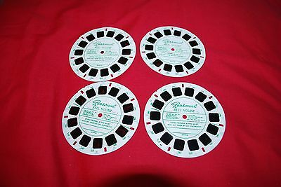 4 RARE VIEW MASTER PERSONAL FEMALE GLAMOUR  REELS MARKS No 1 T0 4 ALL DIFFERENT