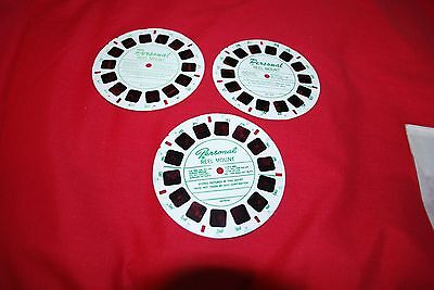 3 Rare View Master Personal Female Glamour  Reels All Different Models As Photo