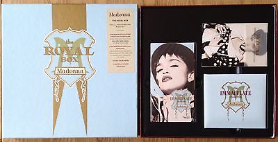 Madonna  The Royal Box Immaculate Collection  1990 Box Set   N.Mint