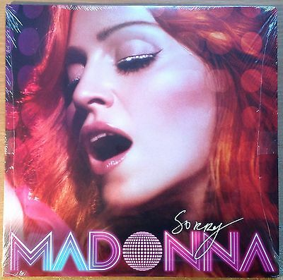 "Madonna  Sorry  2006 US 2x12""   New Sealed Mint"