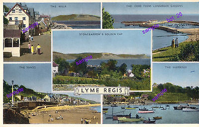 Dorset Lyme Regis 1959/60 Outstanding Superb Vintage Views,Lovely Condition,