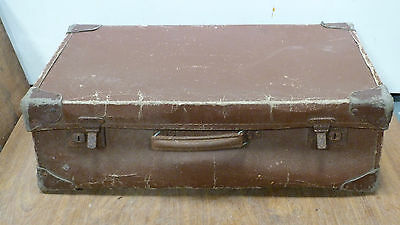 Antique  Vintage Travel Suitcase Shabby Chic Hal Display Film Prop SALE  (5499)
