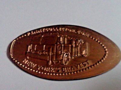 """FDNY NEW YORK'S BRAVEST-Elongated / Pressed Penny-""""copper"""" N-55"""