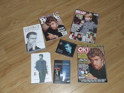 George Michael Bare Hardback 1St Edition And Other Items See Listing
