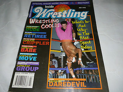 Inside Wrestling Magazine July 1995
