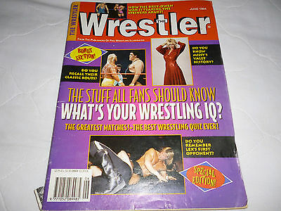 The Wrestler Magazine June 1994