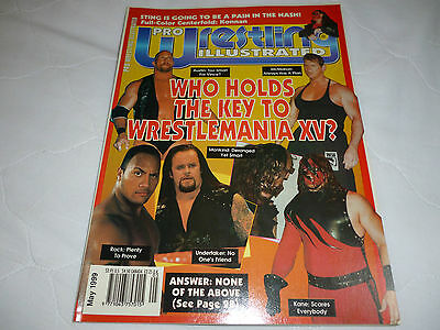 Pro Wrestling Illustrated May 1999
