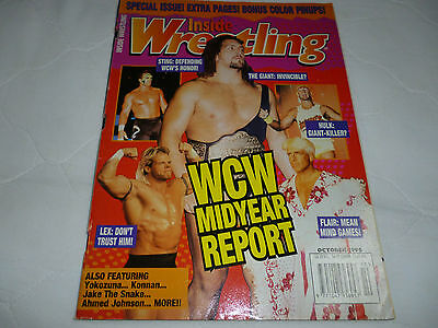 Inside Wrestling Magazine October 1996