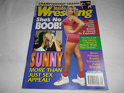 Inside Wrestling Magazine September 1996