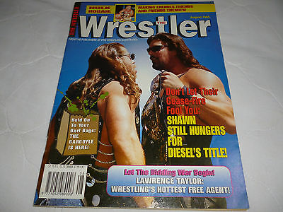 The Wrestler Magazine August 1995
