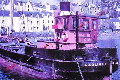 """Clyde Puffer """"WARLIGHT"""" Holds Open Awaiting Cargo A Grand Old Lady of The Lochs"""
