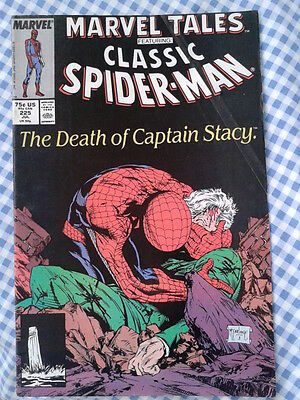 Marvel Tales 225, Amazing Spider-Man 90, Death of Captain Stacy