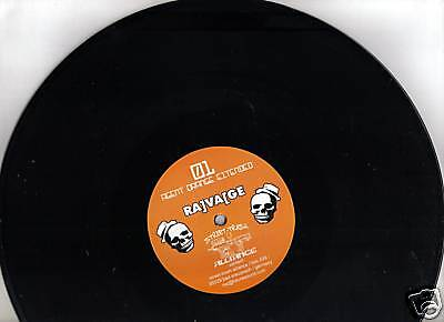 Ravage- dance macabre ep- Label: agent orange- vinyl -fresh from stock