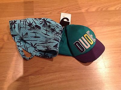BNWT Pack Of 2 Boys Sunhats Age 6-18 Months From Marks & Spencer