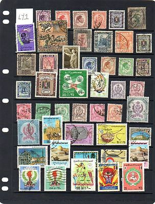 Useful selection of used Libya stamps. Lot LY1