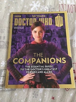 Dr Doctor Who Magazine 50 Years Special Edition Magazine The Companions '13 Rare
