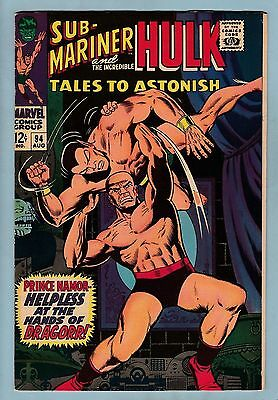TALES TO ASTONISH # 94 FN (5.5/6.0)  HULK- SUB-MARINER- 1967 - CENTS- 99p START