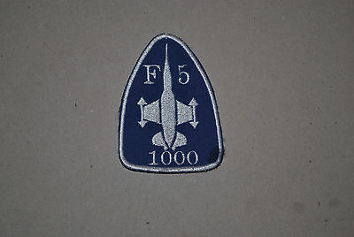 Turkish Airforce  F-5 1000 Hrs  Patch