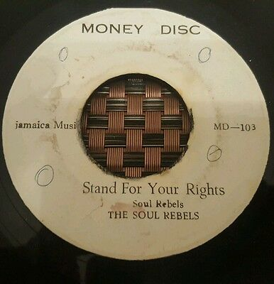 """The Soul Rebels Stand For Your Rights Studio One 7"""" Listen !"""