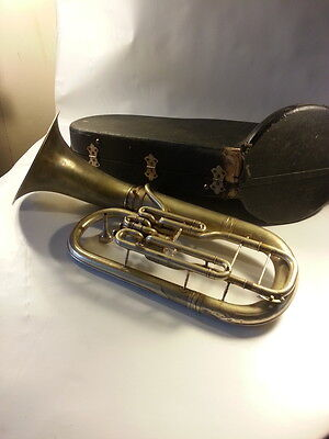Conn Euphonium # 198806 Antique With Case And Mouthpiece