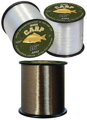 Asso Ultra Carp Fluorocarbon Coated Copolymer Fishing Line - All Sizes