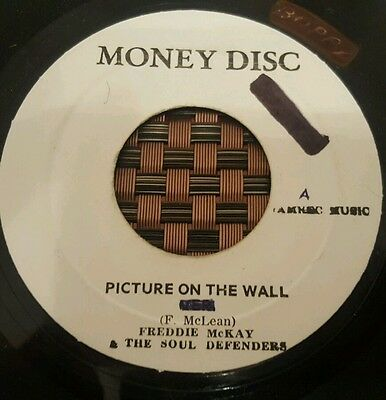 """Freddie Mckay Picture On The Wall Studio One 7"""" Listen !"""