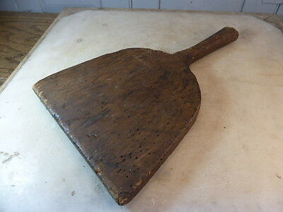 Antique French small rustic herb chopping board
