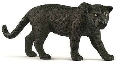 Schleich 14774 Black Panther Leopard Toy Wild Animal Figurine 2017 - NIP
