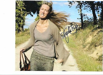"""Angela Dixon hand  signed autograph on 10x8"""" photo ! Never Let Go, Offensive"""