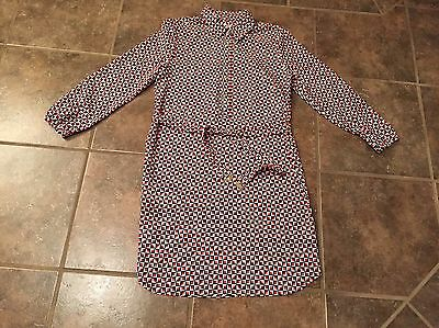 Juicy Couture Dress Women's 4 Red/black/white With Belt Stunning