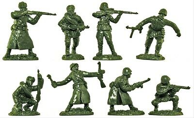 Toy Soldiers of San Diego -WWII RUSSIAN INFANTRY IN 8 POSE FIGURES - 1/32 SCALE