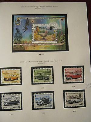 Jersey Perfect Unmounted Mint 2005 Nordia Cars 2 Face£5