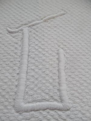 6 Huge Antique French White Linen Napkins/serviettes /torchons-Monogrammed