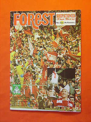 Nottingham Forest v Coventry City, League Cup Semi Final  11th Feb 1990