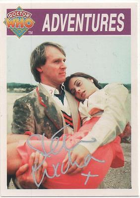 "Dr Who Cornerstone Auto Trading Card Steven Wickham ""Soldier"""
