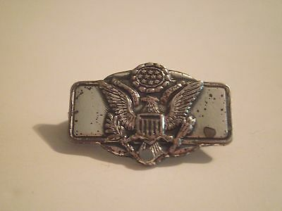 US Army sterling silver sweetheart pin