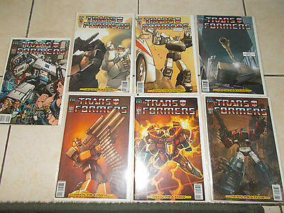 IDW Transformers - Infiltration Complete Set Issues #0-6 Cover C