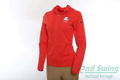 New Womens Nike 2016 Ryder Cup Shield Wind Jacket X-Large XL Red MSRP $90