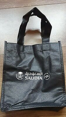 SAUDIA Airlines In Flight gift eco shopping Bag