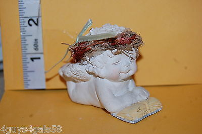 Collectible DREAMSICLES 1995 #DC087 MY FIRST READER Angel Cherub LAYING READING