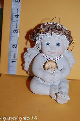 Collectible DREAMSICLES (1996) Angel Cherub Baby GOLD MEDAL