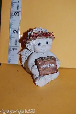"""Collectible DREAMSICLES 1995 #11080 """"ALL STAR DOCTOR"""" Baby ANGEL CHERUB Bag Kit"""