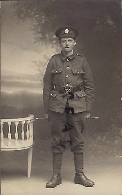 WW1 soldier Cheshire Regiment